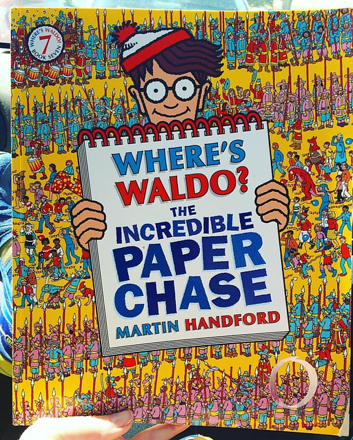 "I bought this ""Where's Waldo?"" book today...for me. Am I regressing?"