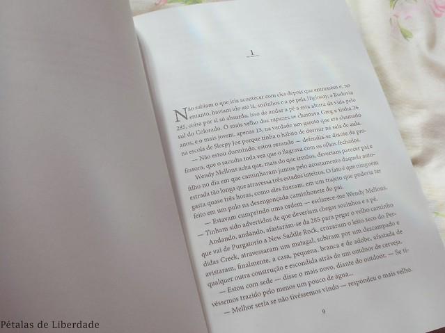 Diagramação, trecho, livro, Hot-Sul, Laura-Restrepo, editora-bertrand-brasil,
