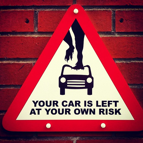 Your car is left at your own risk | by Keepmeamused
