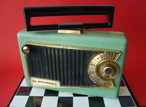 MOTOROLA Tube Radio Model 56L4 (USA 1955) | by MarkAmsterdam