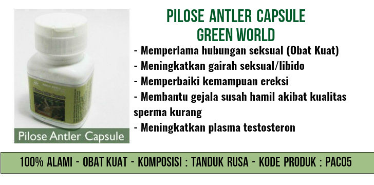 Pilose Antler Capsule Green World