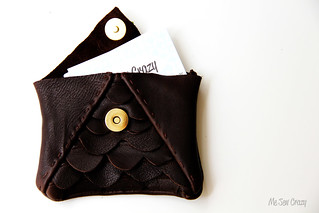Scalloped Leather Clutch 3 | by mesewcrazy