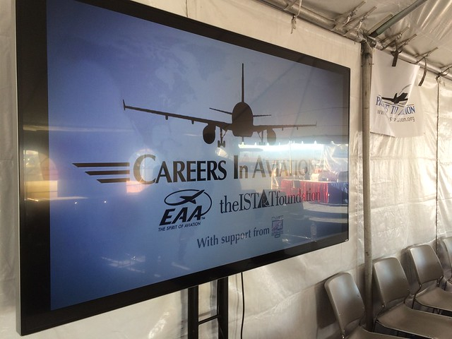Aviation Learning Center 2016 - Careers & Industry Tent