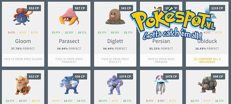 Beste IV waarden voor Pokémon uit ei