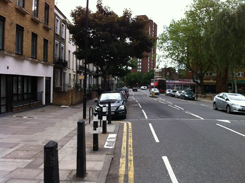 Malden Road - door zone cycle lanes | by Camden Cyclists