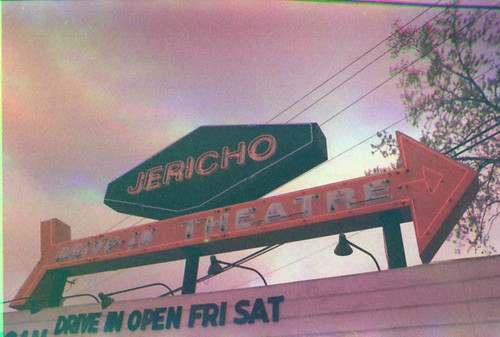 Jericho Drive-in Marquee 2 KDR LR | by chuckthewriter