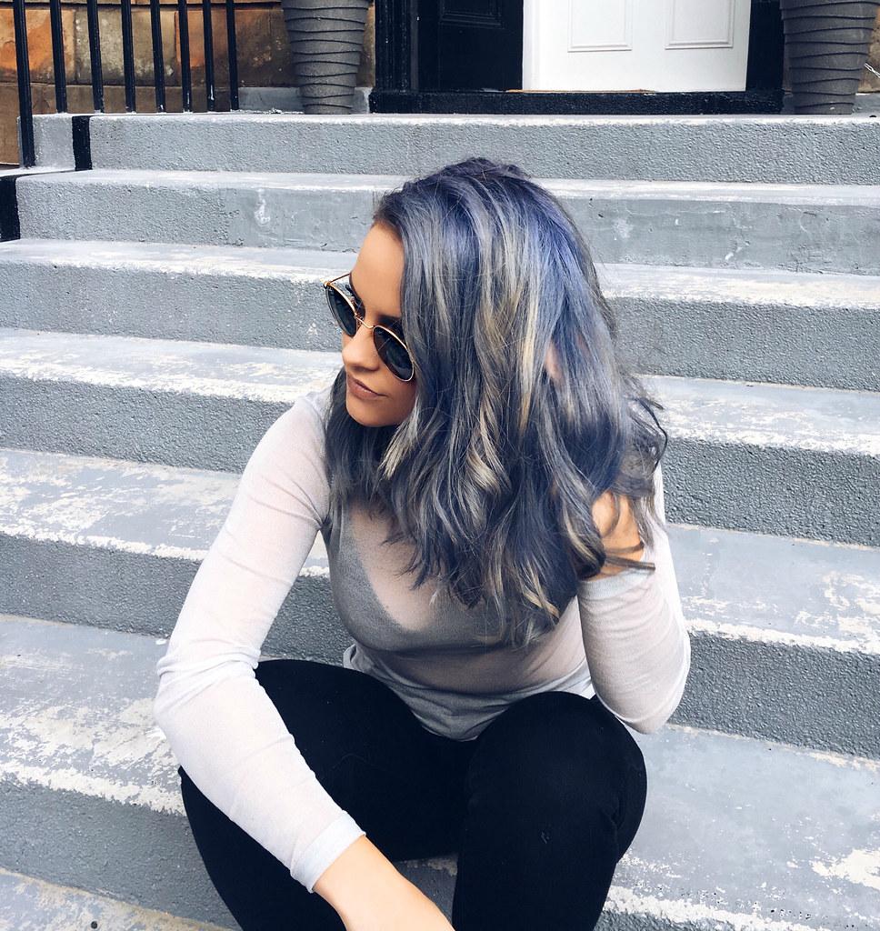 The Little Magpie Blue Hair 4