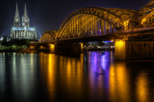 Cologne Cathedral and Hohenzollern Bridge | by 1982Chris911 (Thank you 5.500.000 Times)