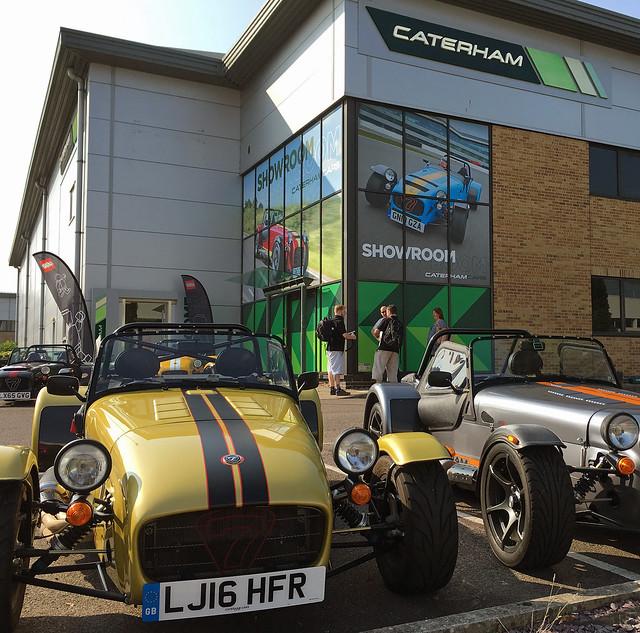 Event Report: 21307 Caterham Seven 620R Media Launch