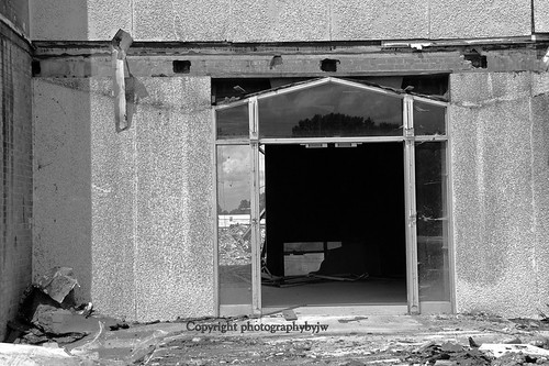 Through the Door Black and White | by Photographybyjw