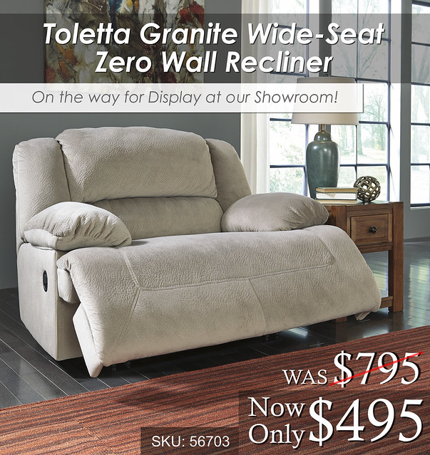 Toletta Granite Oversized Recliner OTW