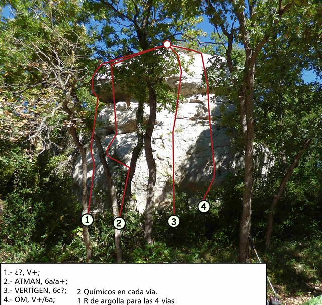Collsuspina - Creu de Castellar -10- Totxo Vertígen