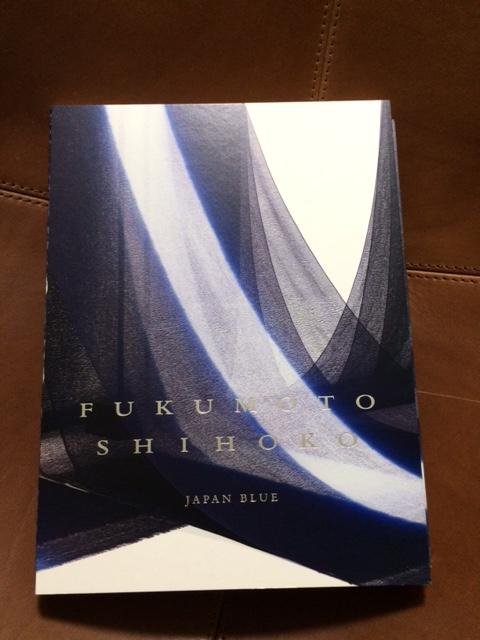 福本潮子作品集 ー藍の青ー 出版記念展