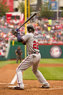 Atlanta Braves right fielder Jason Heyward | by Tate Nations