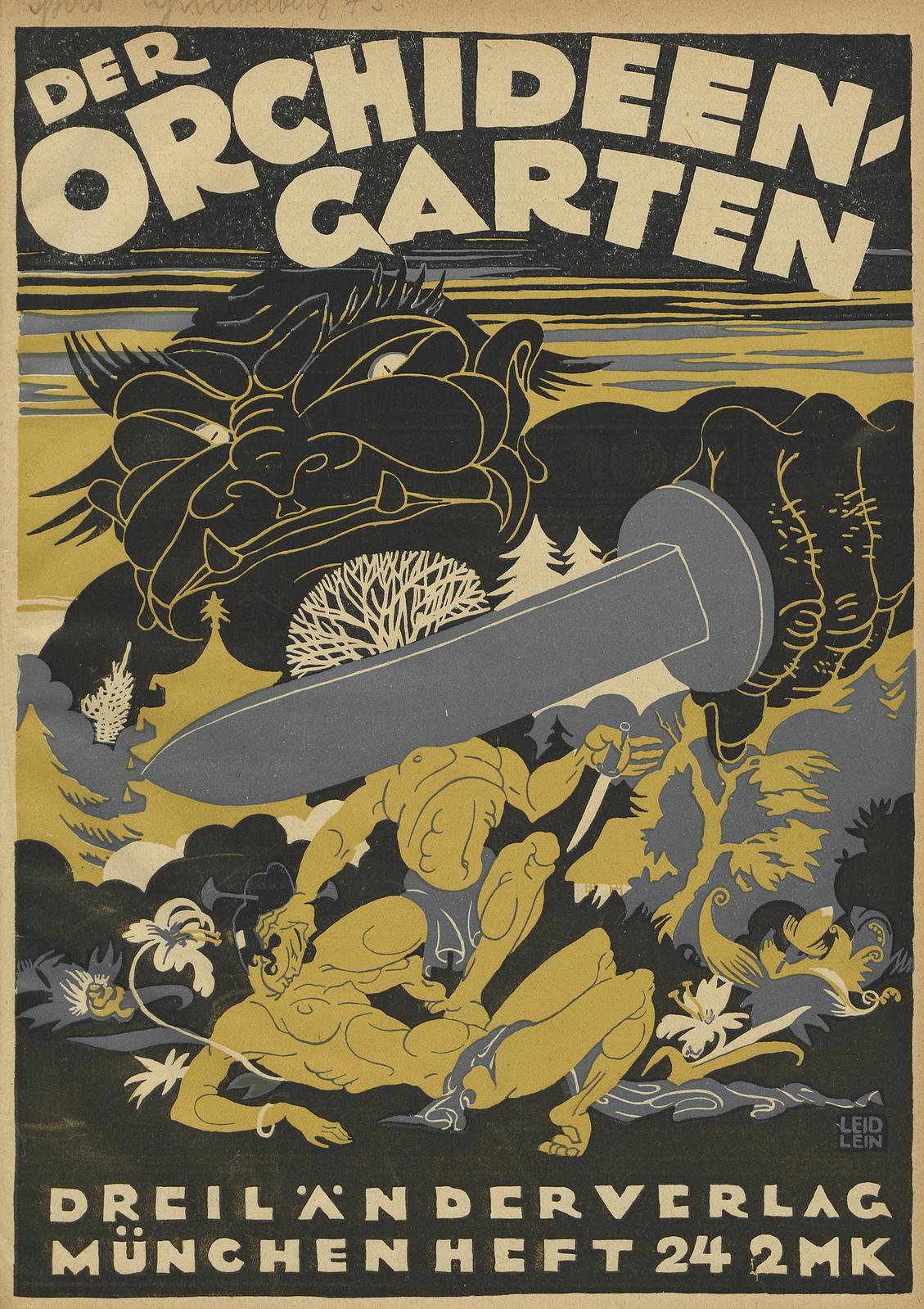 Der Orchideengarten - 1920 (Cover 23)