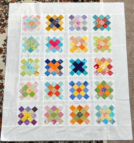 granny quilt top | by vickivictoria