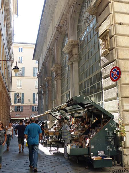 bouquinistes à Gênes