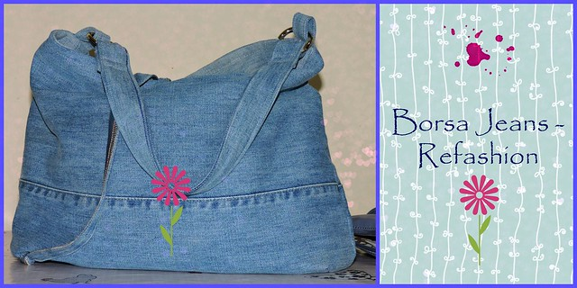 The lovely sewing il cucito incantevole facilissima for Borse fai da te jeans