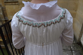 Regency Beaded Dress