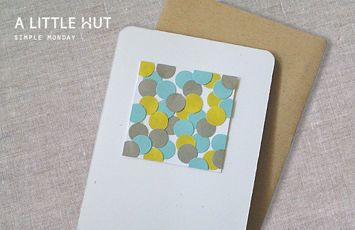 scraps card | by Patricia Zapata