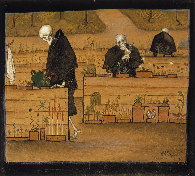 Hugo Simberg - The Garden of Death, 1896
