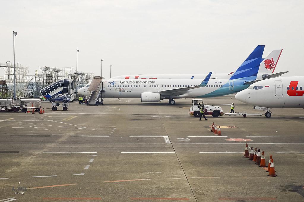 Garuda Indonesia 738