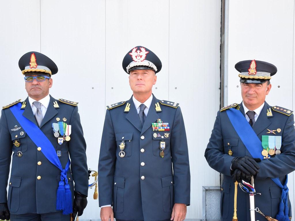 gdf cambio della guardia comandante