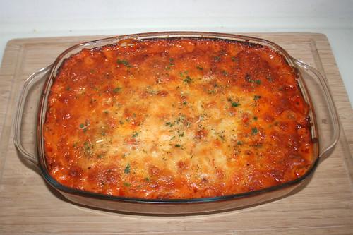 33 - Gyros kritharaki casserole - Finished baking 01 / Gyros Kritharaki Auflauf  - Fertig gebacken 01