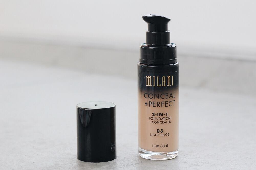 Milani 2-in-1 Foundation + Concealer light beige 03