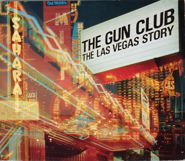 "THE GUN CLUB THE LAS VEGAS STORY ANIMAL RECORDS 12"" LP VINYL"