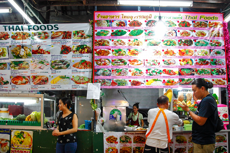Anusarn Market Thai Food Stall