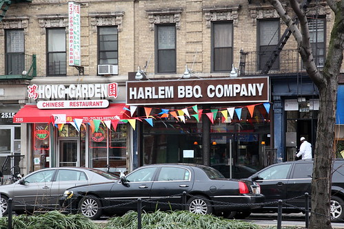 Hong Garden and Harlem BBQ Company, Adam Clayton Powell Junior Boulevard, Manhattan | by Eating In Translation