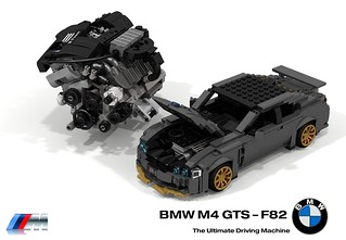 BMW M4 GTS (F82 - 2016) + UCS BMW S55 3.0 Litre Turbocharged Inline Six Engine