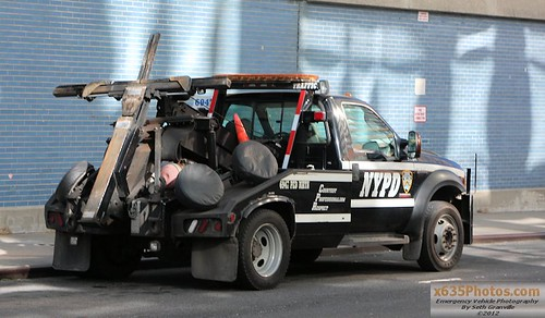 NYPD Parking Enforcement Wrecker