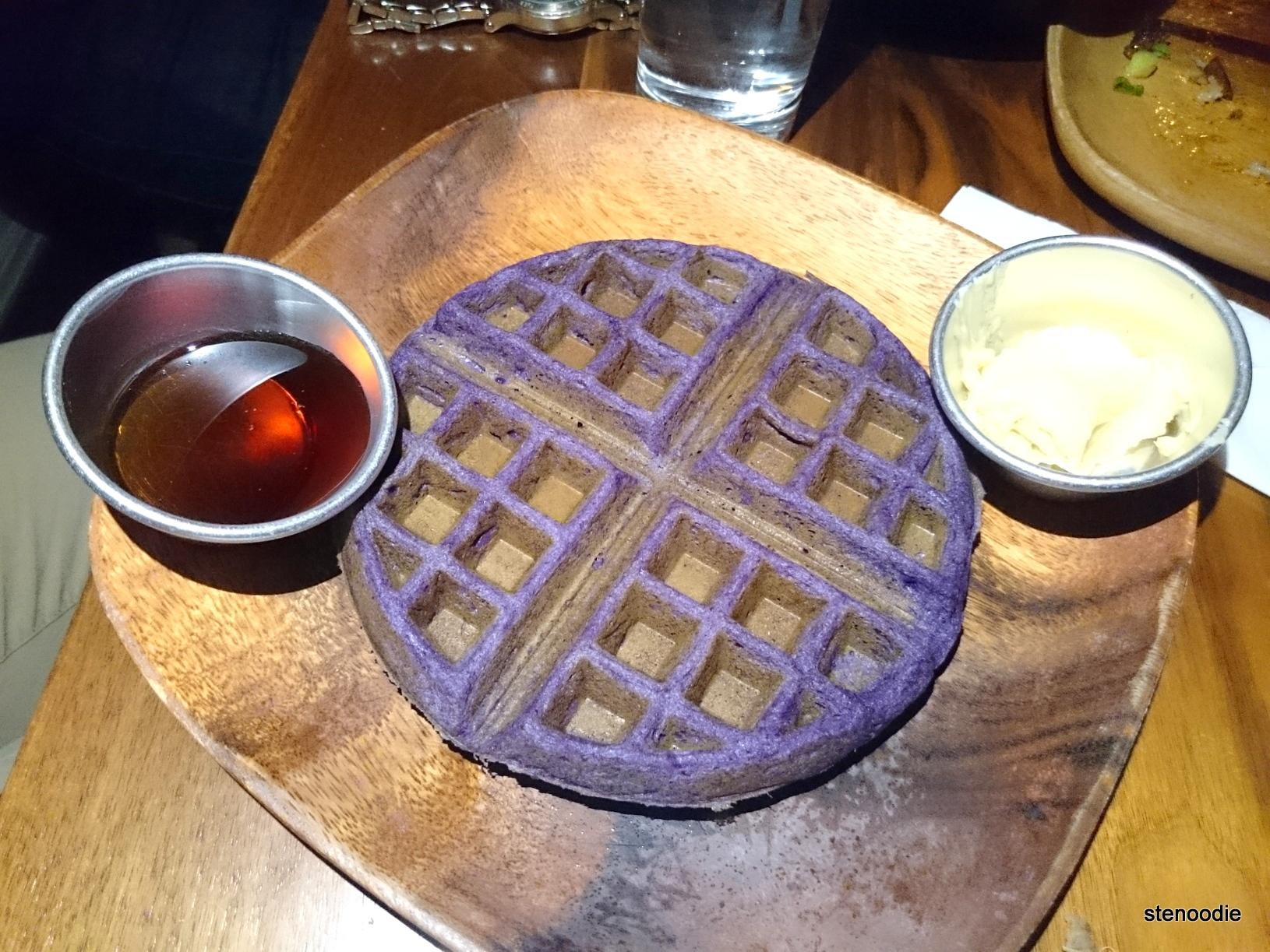 Ube Waffles