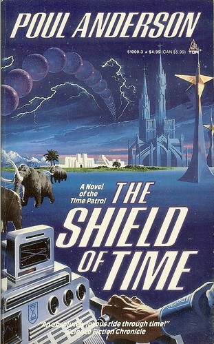 The Shield of Time - Poul Anderson - cover artist Vincent Di Fate