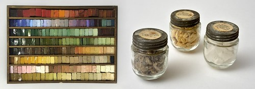 Milanese Mosaic Pastes, Cabinet of Factory Products, c. 1800