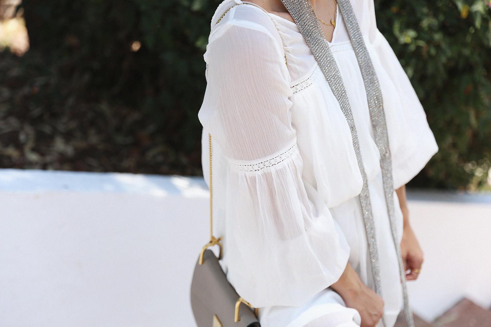 Jessie Chanes Seams for a desire Short White Dress-14