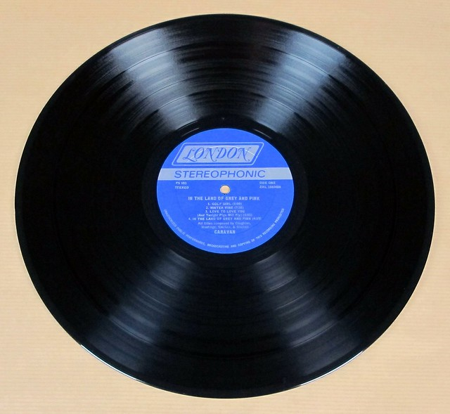 "CARAVAN IN THE LAND OF GREY AND PINK GATEFOLD 12"" LP VINYL"