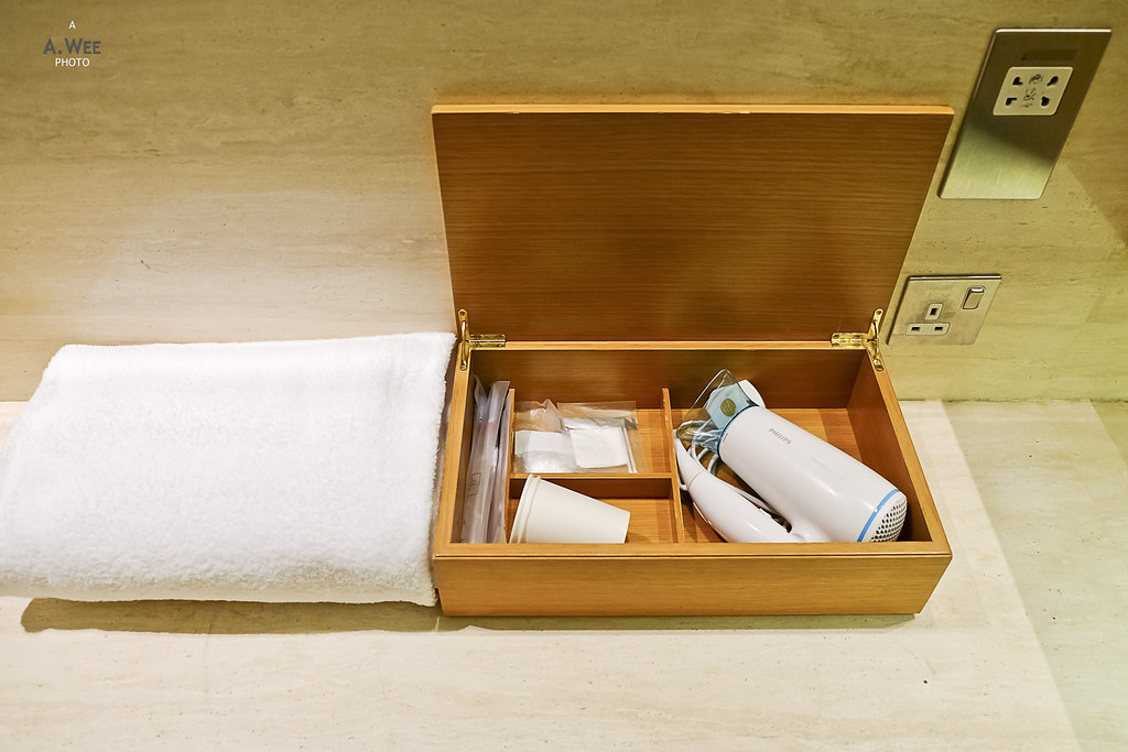 Bath amenities box
