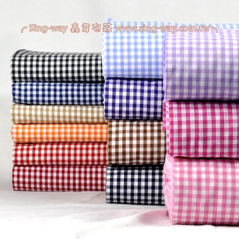 方格 簡約 格紋 桌巾門簾 襯衫服裝布料 FC340287