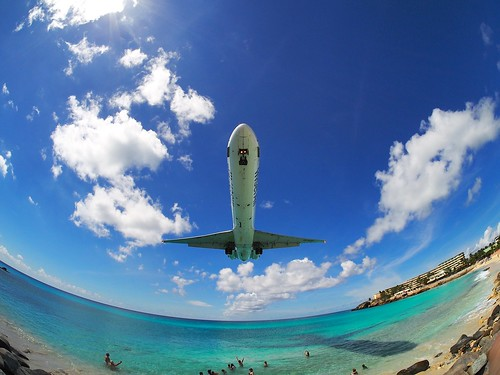 Landing at SXM | by Gus NYC
