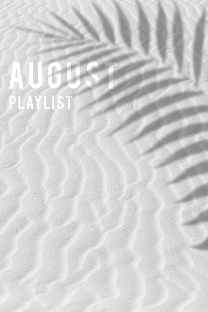 august playlist white sand