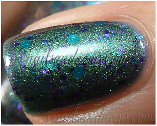 Pretty & Polished - Pretty As A Peacock 4 | by NailsandNoms