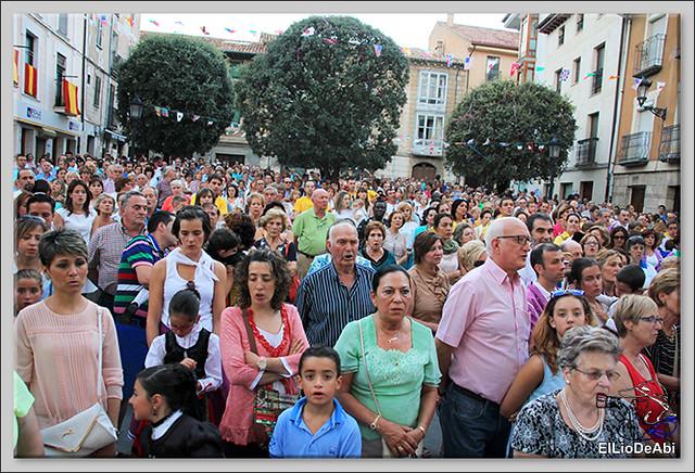 Briviesca Fiestas 2016 Procesión del Rosario y canto popular de la Salve  (17)