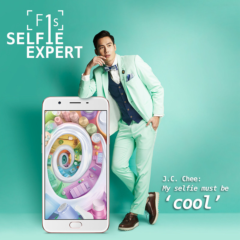 Selfie Expert OPPO F1s With New Selfie Squad