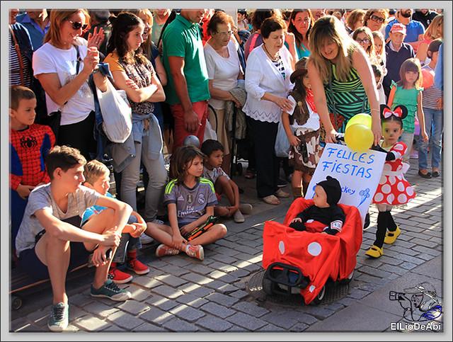 Briviesca Fiestas 2016 Desfile Infantil de Disfraces 1
