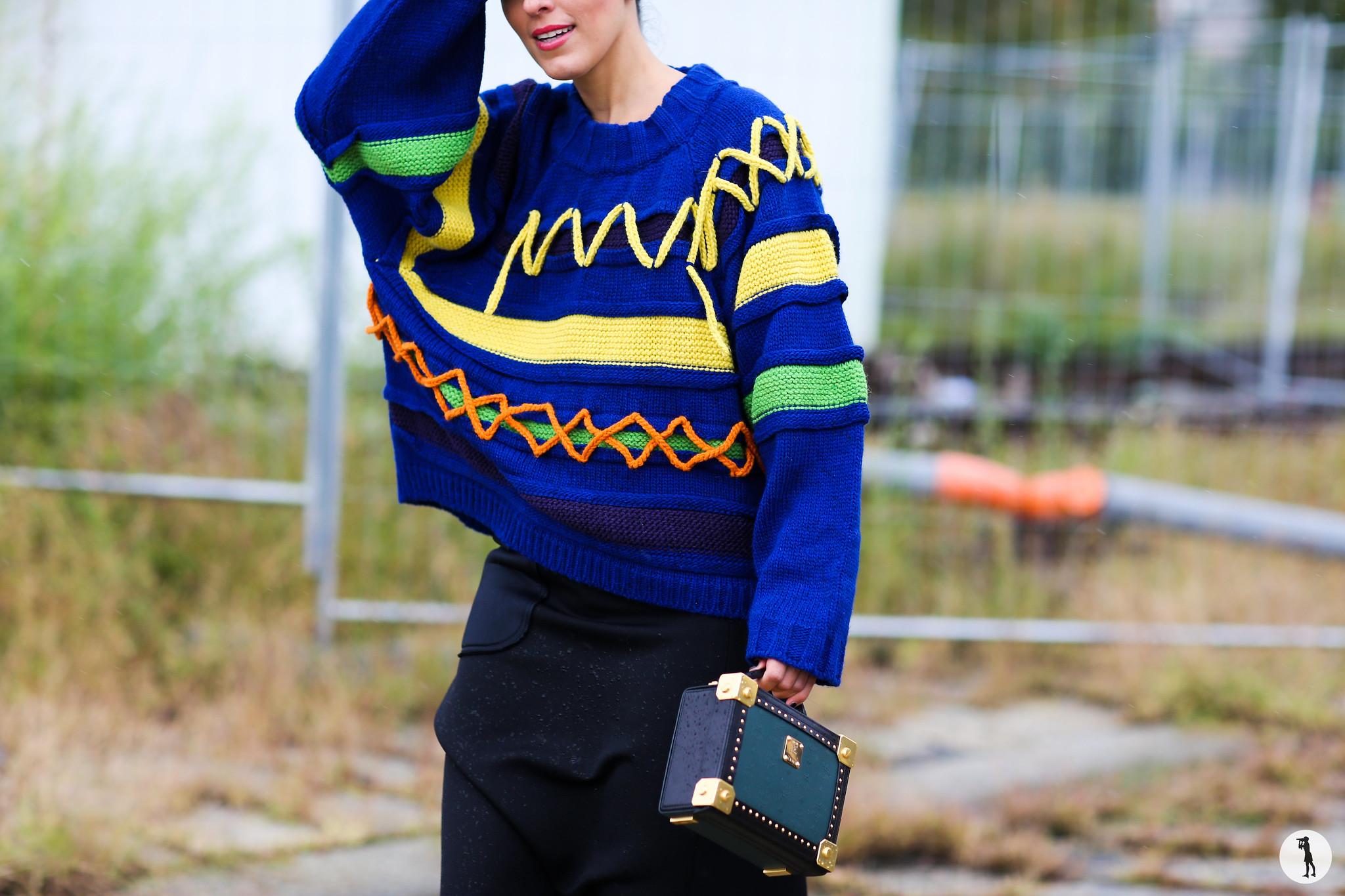 Laura Comolli at Milan Fashion Week