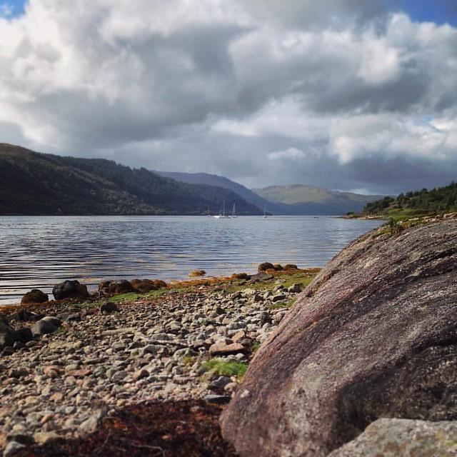 Loch Sunart, Scottish Highlands #scotland #lochsunart #scottishhighlands #scottishscenery #sealoch