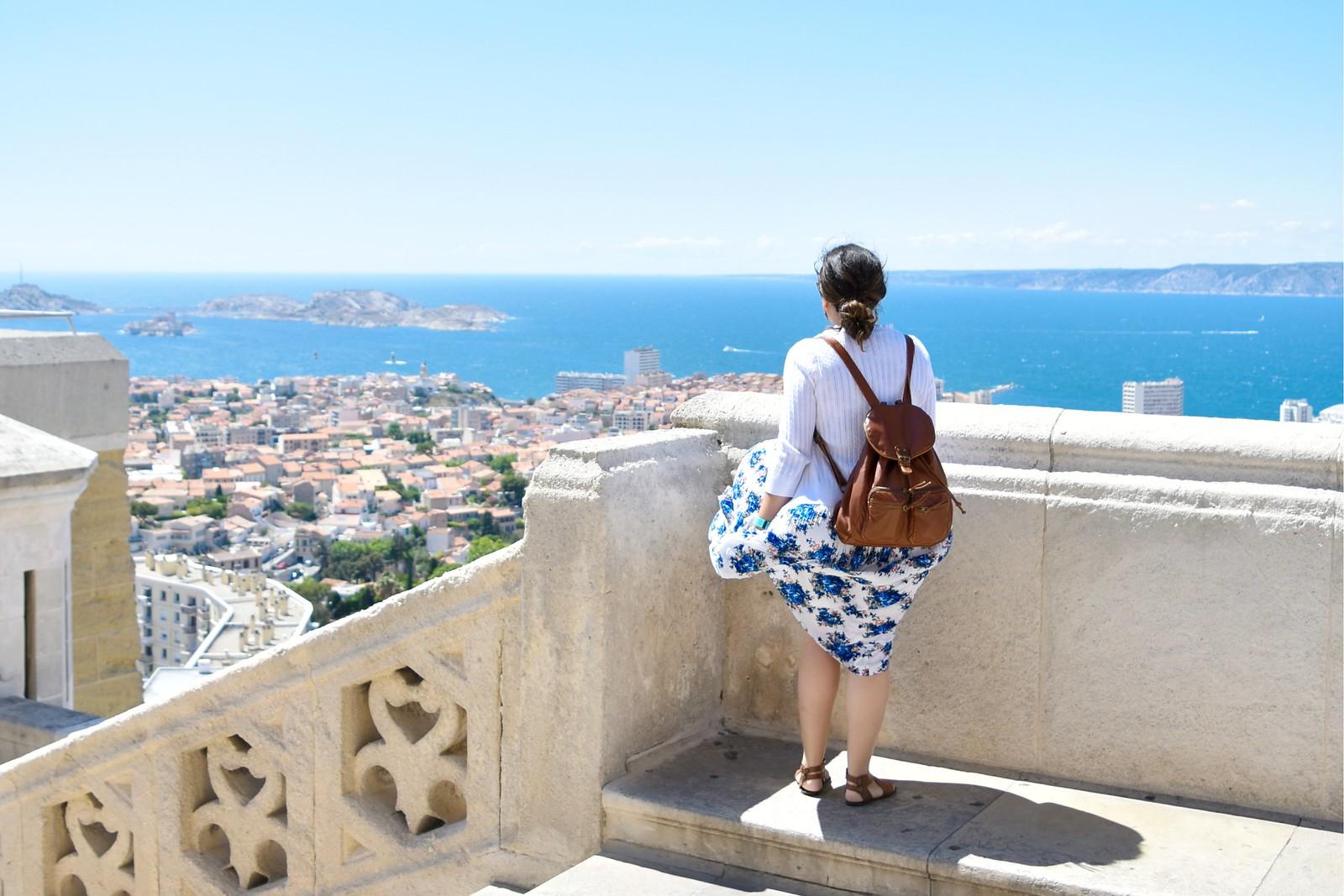 Marseille from the Notre Dame de la Garde